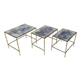 Maison Bagues Nesting Table - Set of 3 For Sale
