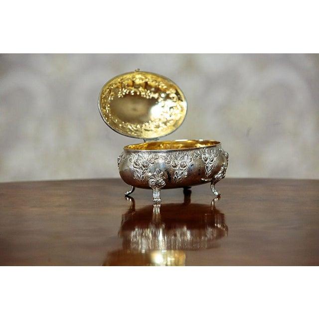 Rococo Mid 20th Century Silver Sugar Bowl For Sale - Image 3 of 9