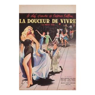 La Dolce Vita, 1960 French Petite Film Poster For Sale