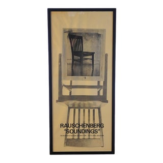Rauschenberg Soundings-MoMA, NY Poster For Sale