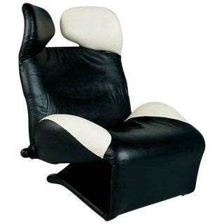 "Toshiyuki Kita ""Wink"" Lounge Chair for Cassina, Italy, Circa 1980 For Sale"