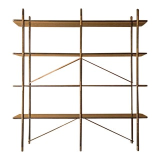 Gorget Shelving Unit by Wyatt Speight Rhue