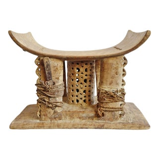 Original Asante Chief Stool For Sale