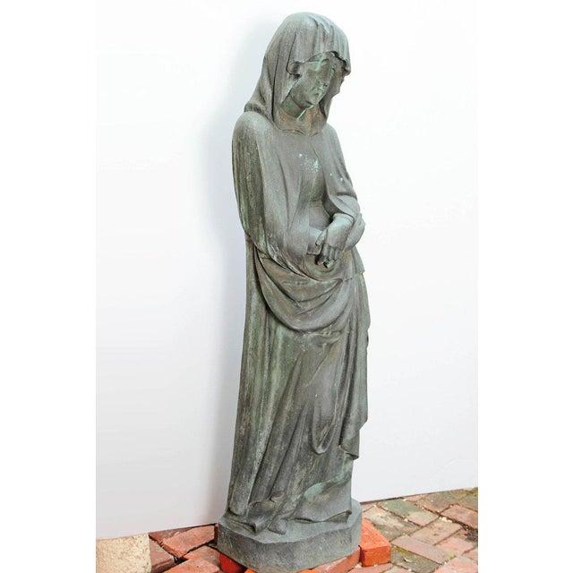 Bronze Female Statue For Sale - Image 10 of 13