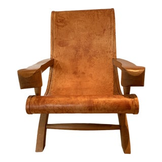 Clara Porset Butaque Chair For Sale