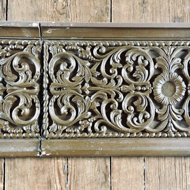 Carved Oak Architectural Frieze For Sale - Image 4 of 7