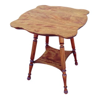 Victorian 2 Tier Side Table For Sale