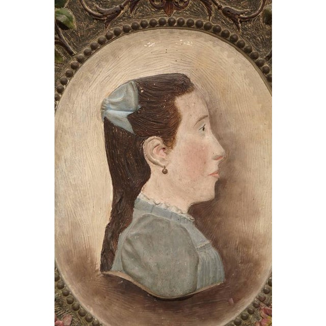 Ceramic 19th Century French Terracotta Plaque C. 1860 For Sale - Image 7 of 8