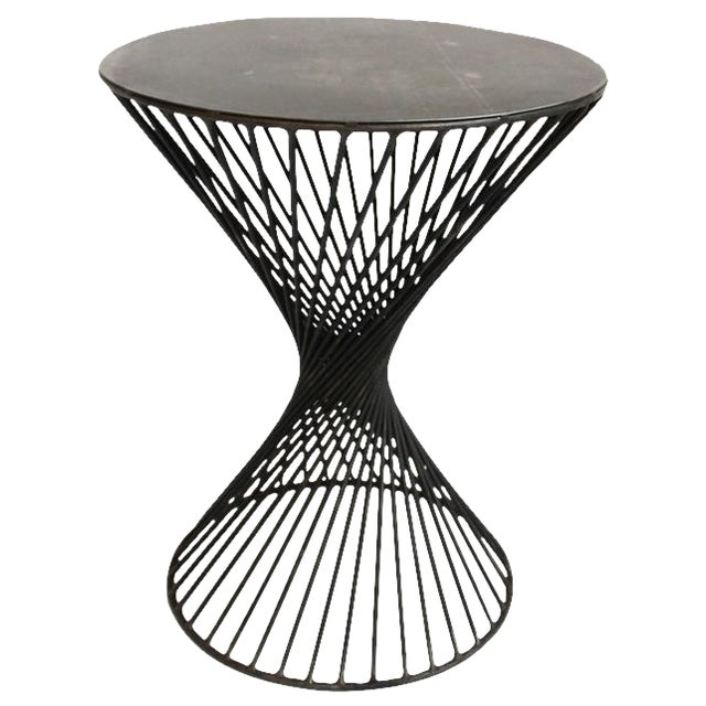 Industrial Architectural Side Table - Image 1 of 3