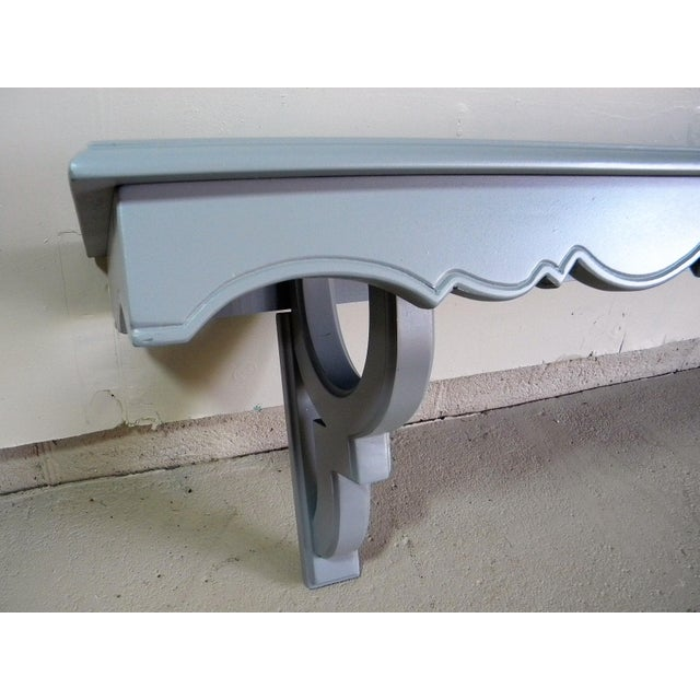 Vintage Painted Wall Console - Image 5 of 6