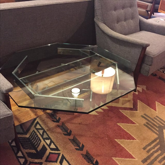 Modern Paul Mayen for Habitat Chrome Stacked Table For Sale - Image 3 of 6