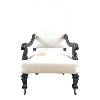 Early French Louis XIV Armchair For Sale