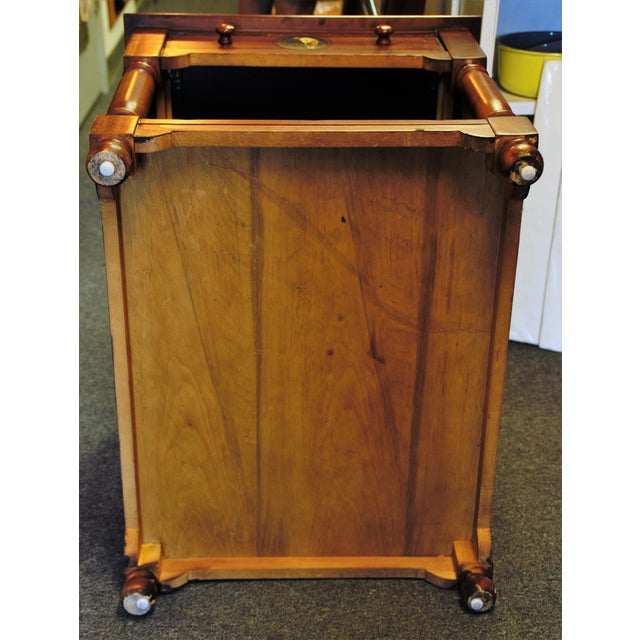 "Brown St. Andrews ""Ireland"" Golf Club Side Table For Sale - Image 8 of 9"