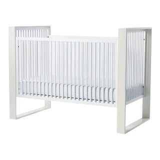Duc Duc White Child's Crib For Sale