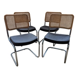 1970s Bauhaus Daystrom Cantilever Chairs – Set of 4