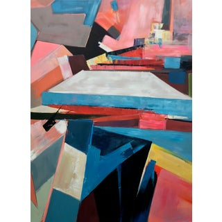 Contemporary Abstract Canvas Painting For Sale