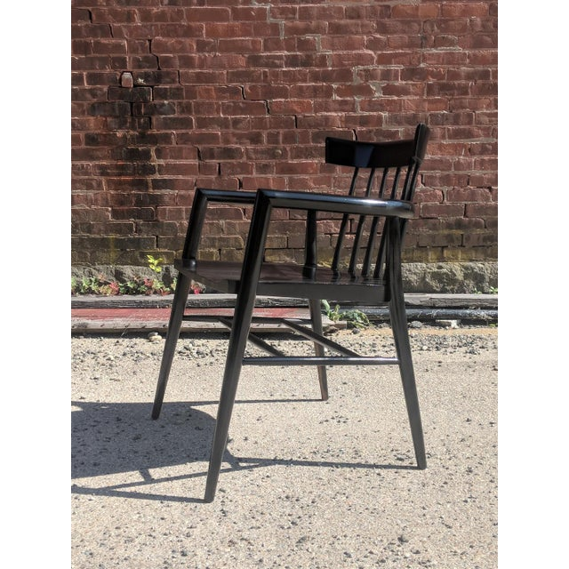 """Winchendon Furniture """"Planner Group"""" Modernist Comb Back Windsor Chair by Paul McCobb For Sale - Image 4 of 10"""