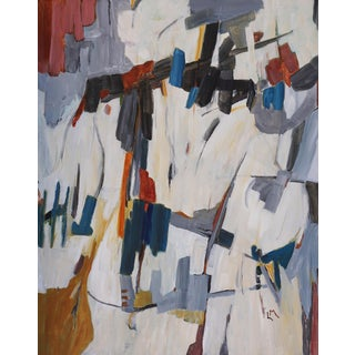 """""""Contraption"""" Abstract Painting by Laurie MacMillan For Sale"""