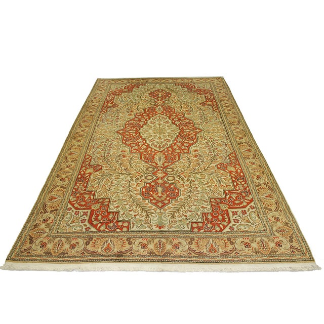 "Vintage Kayseri Carpet - 6'7"" x 10'1"" - Image 5 of 6"