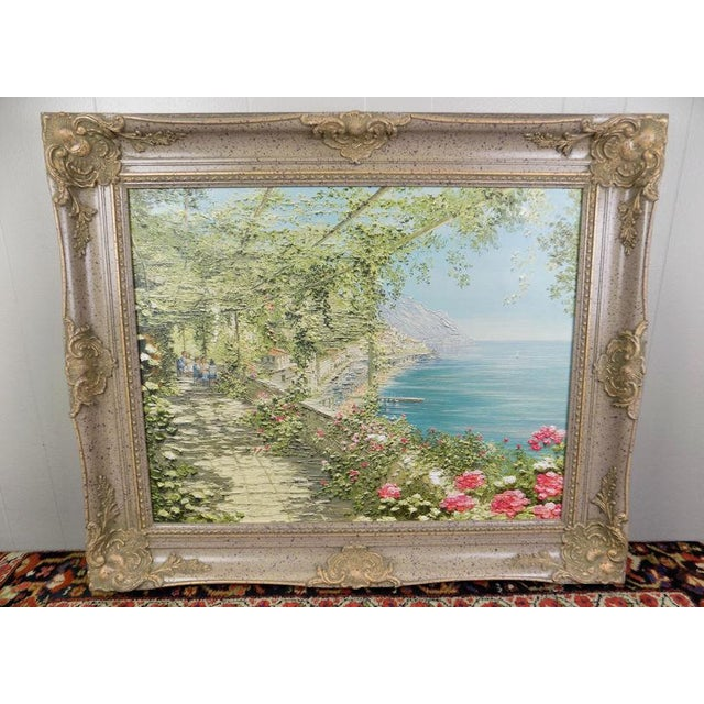 Liliana Frasca 'Amalfi' the Museum Shop Brushstrokes Collection Print For Sale - Image 12 of 12