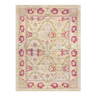 Mansour Fine Hand Woven Axminster Rug - 8′3″ × 11′4″ For Sale