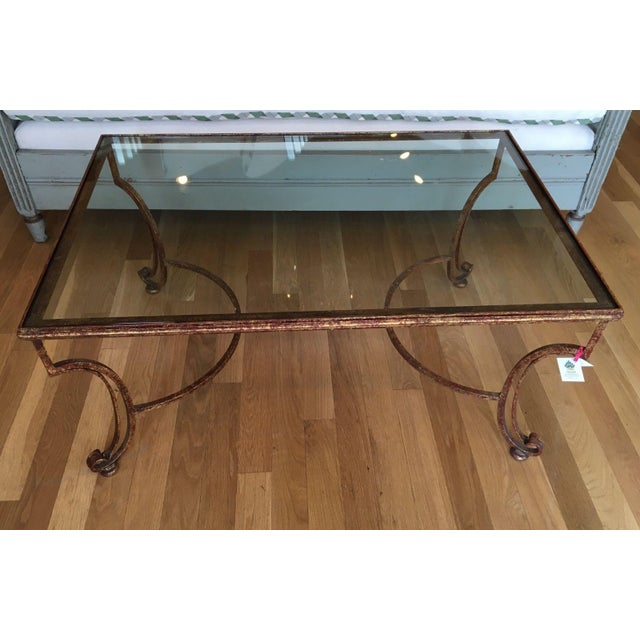 Glass Top Coffee Table - Image 4 of 4