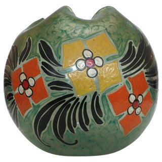 Early 20th Century Art Glass Vase by Verrerie Legras For Sale