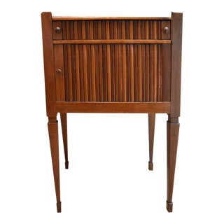 19th Century French Walnut Cabinet Side Table