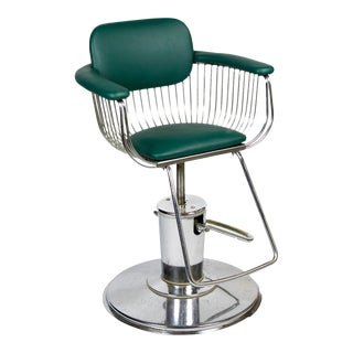 Warren Platner Refurbished Barber Chair