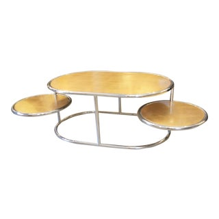 Liwans Oval Occasional Coffee Table For Sale