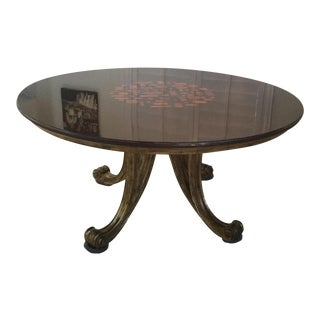Christopher Guy Robuchon Round Dining Table For Sale