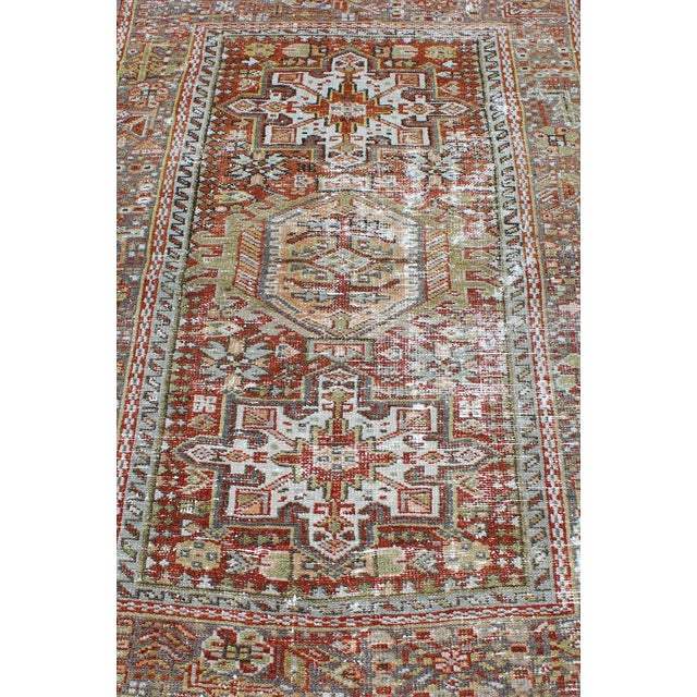 1930s Semi Antique Karadjeh Rug - 2′11″ × 4′5″ For Sale In Atlanta - Image 6 of 11
