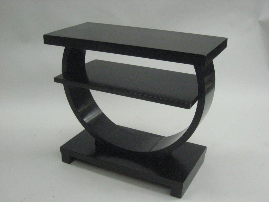 Pair Of French Art Deco End Tables Attributed To Albert Portneuve   Image 3  Of 6