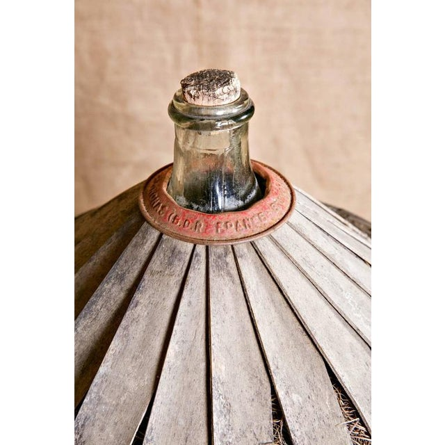 Mid 19th Century Antique French Demijohn or Bonbonne For Sale - Image 5 of 8