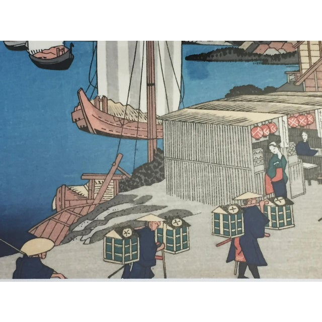 Japanese Woodblock Print For Sale In New York - Image 6 of 12