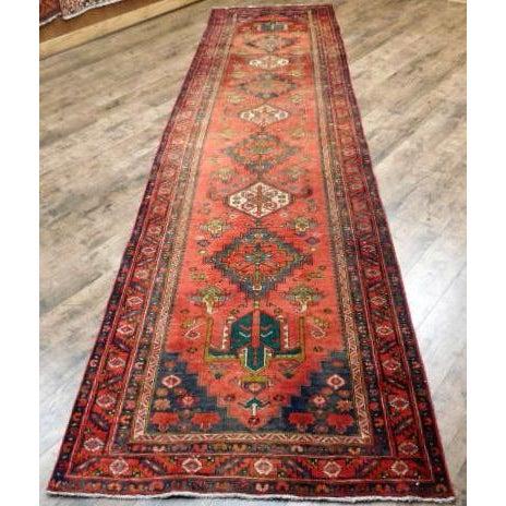 Antique Persian Karaja Runner - 3′7″ × 14′ - Image 2 of 10