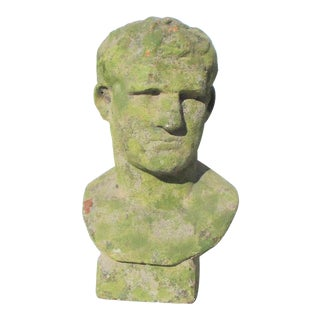Garden Head Roman Ceasar Bust