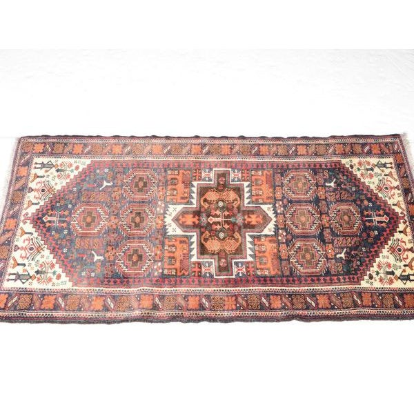 Traditional Hand Knotted Persian Baluch Rug - 3′3″ × 6′10″ For Sale - Image 3 of 9