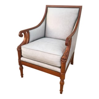 Baker Furniture Leather Armchair
