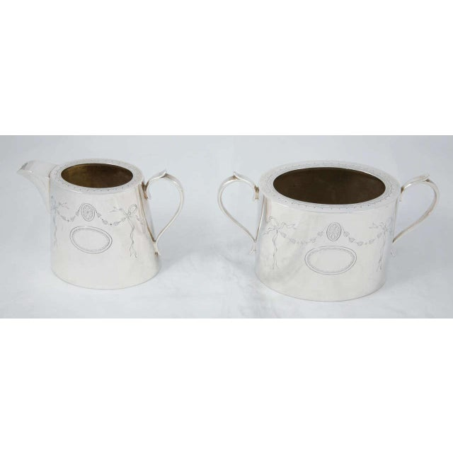 Metal 3 Piece Coffee Set For Sale - Image 7 of 11