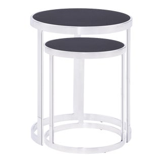 Blink Home Nesting Tables - A Pair For Sale