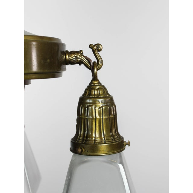 Mitchell Vance & Co. Sheffield Patterned Light Fixture (4-Light) For Sale - Image 5 of 9