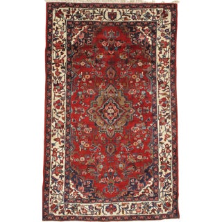 Pasargad Ny Persian Hamadan 5′1″ × 8′3″ Wool & Cotton Area Rug