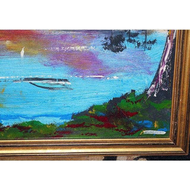 florida highwayman painting m sears chairish