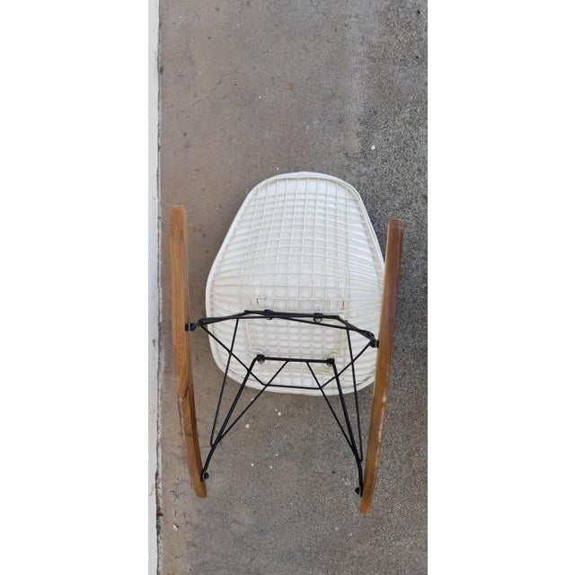 Eames Wire Seat Rkr Rocker For Sale In San Francisco - Image 6 of 9
