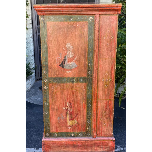 1990s Equator Furniture Company 18th C Spanish Colonial Cabinet Mini Armoire For Sale - Image 5 of 8