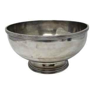 """Hotel Silver """"Hotel Schroeder"""" Footed Bowl For Sale"""