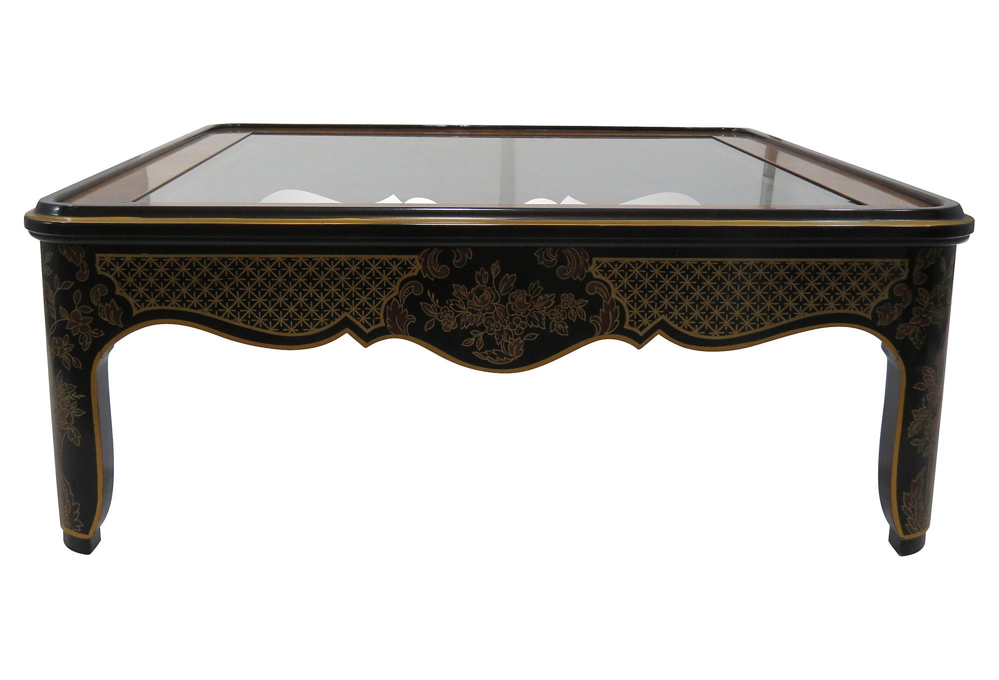 English Style Coffee Table by Drexel Heritage Chairish