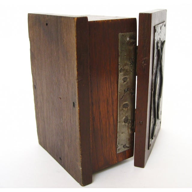 Hand-Crafted Wood & Metal Box - Image 6 of 6