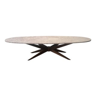 """1960s Mid-Century Modern Adrian Pearsall for Craft Associates Elongated """"Jacks"""" Cocktail Table For Sale"""